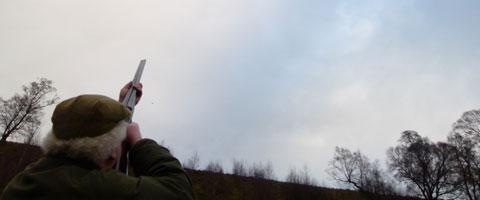 Partridge Shooting at Ralia Estate